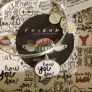 """ALEX AND ANI FRIENDS COLLECTION """"HOW U DOIN?!""""NWT"""